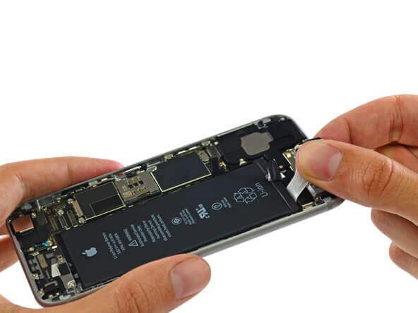 замена аккумулятор iphone